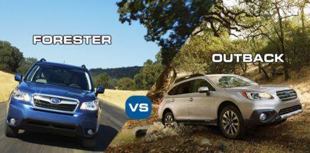 subaru forester vs outback