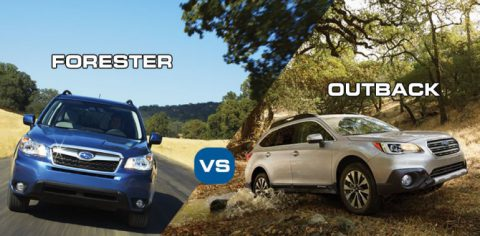 subaru forester vs outback