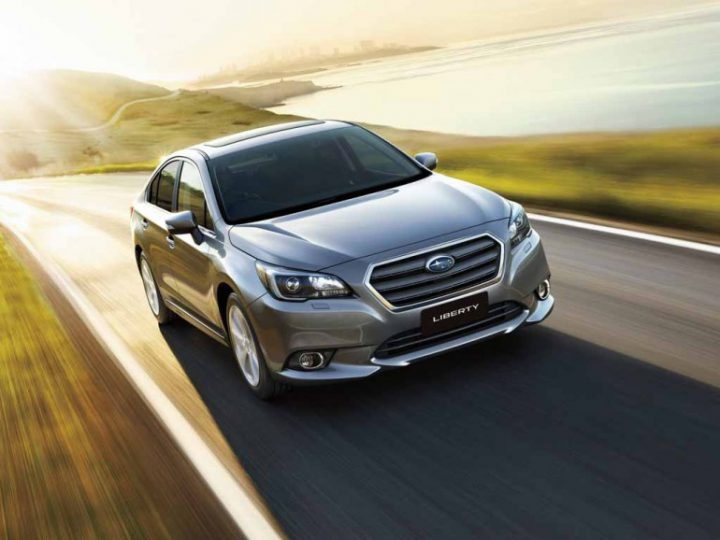 The New Subaru Liberty 2018 Facelift Revealed