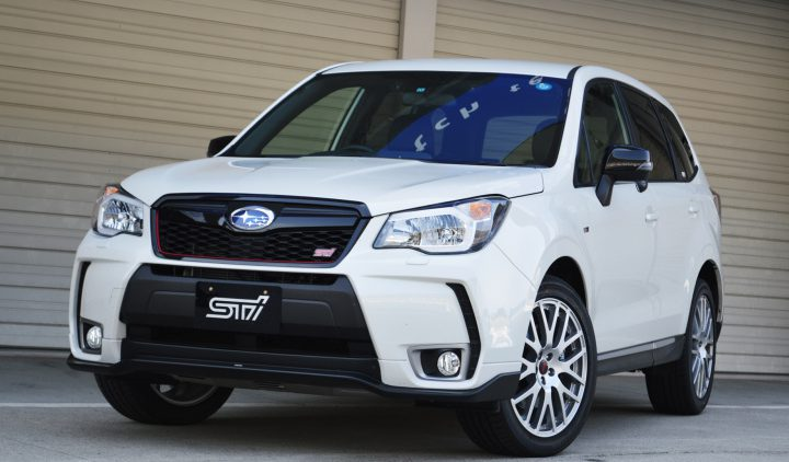 Watch Out Australia the Subaru Forester tS is Heading Your Way