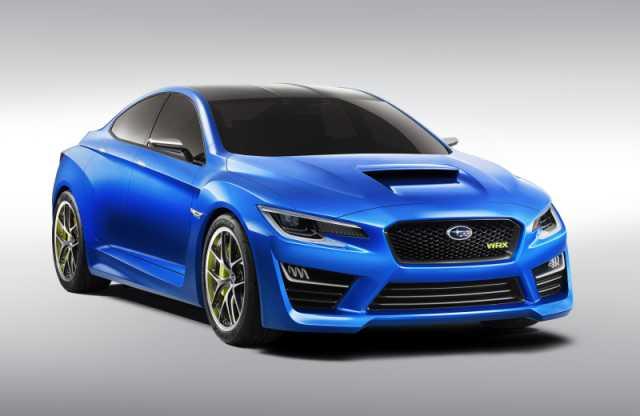 Subaru Unveil New Concept Car at the Los Angeles Auto Show