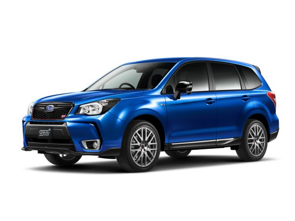 new subaru forester TS