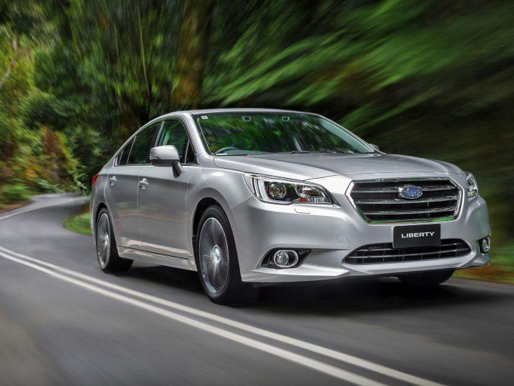 The 2016 Subaru Liberty vs The Hyundai Sonata