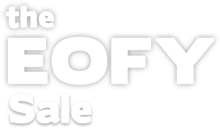 The EOFY sale in color white