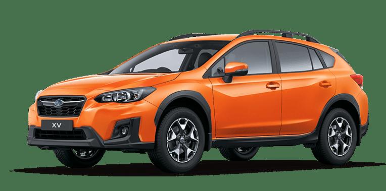 The New 2017 Subaru XV in color orange