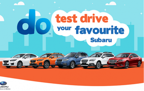 City Subaru - Demo Sale Test Drive