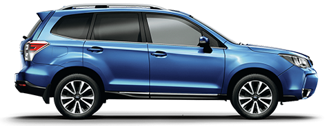 Forester STpremium Sideprofile