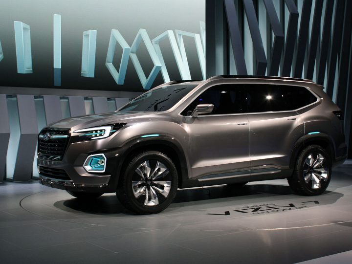 Subaru Previews a New Seven Seater SUV