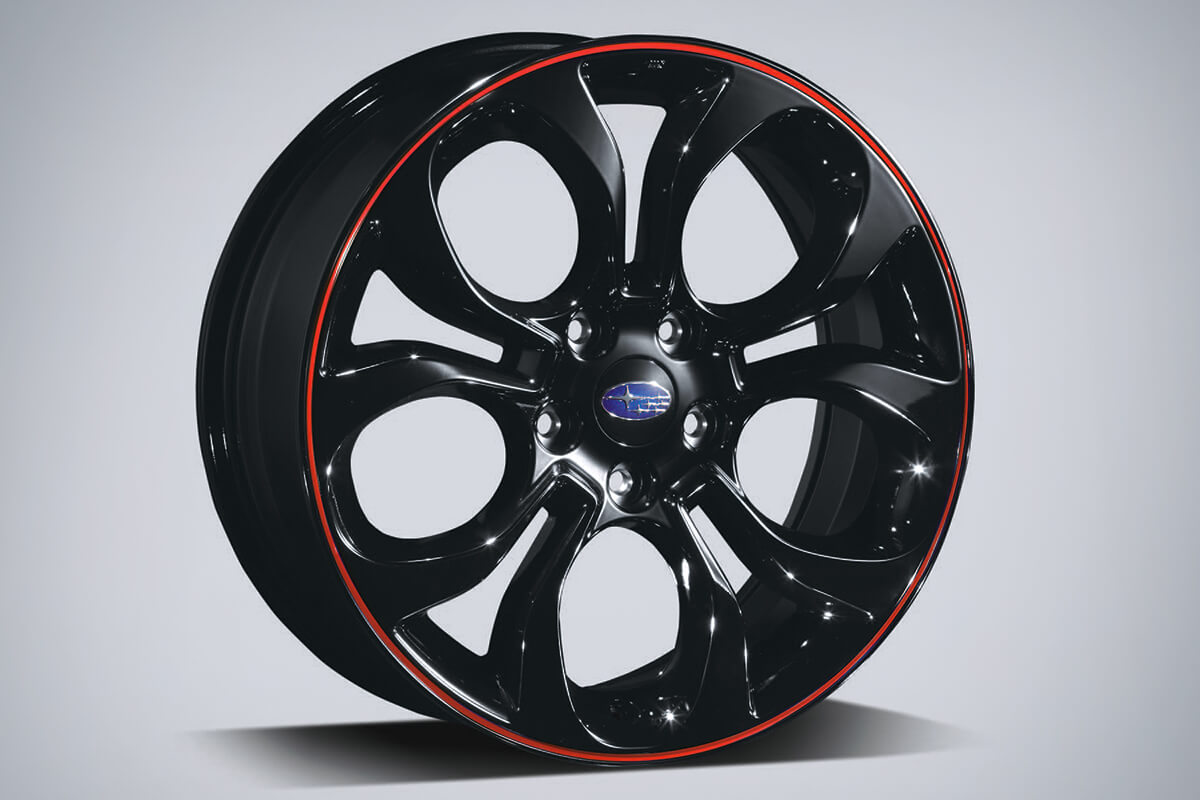 impreza accessories alloy wheel