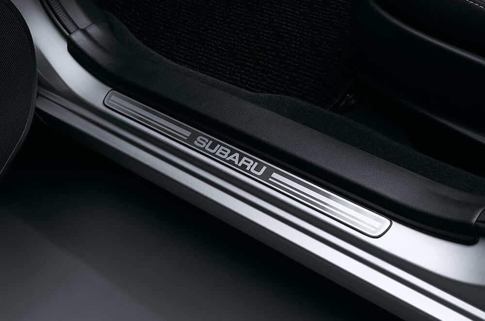 impreza accessories side sill plate