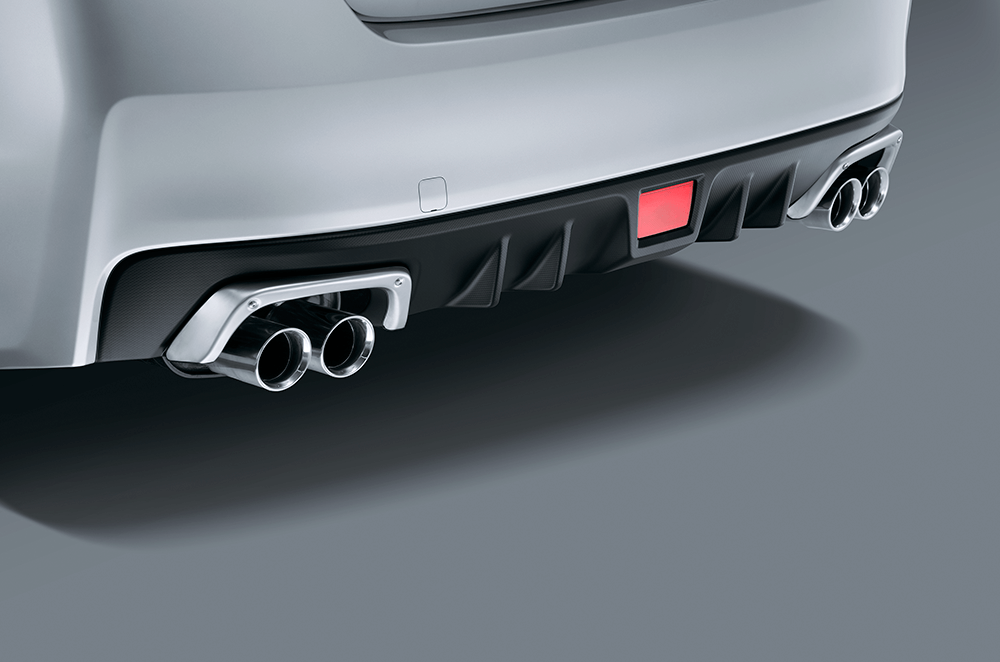 WRX accessories exhaust surround