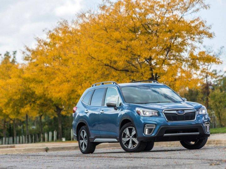 2019 Subaru Forester Achieve 5 Star ANCAP Rating