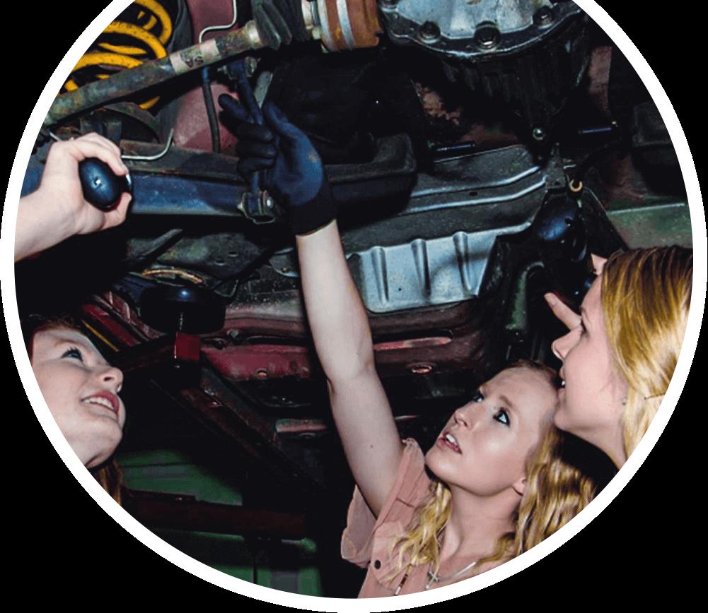 City Subarui - Lady Mechanic