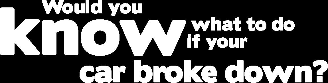 City Subaru - Know What to Do