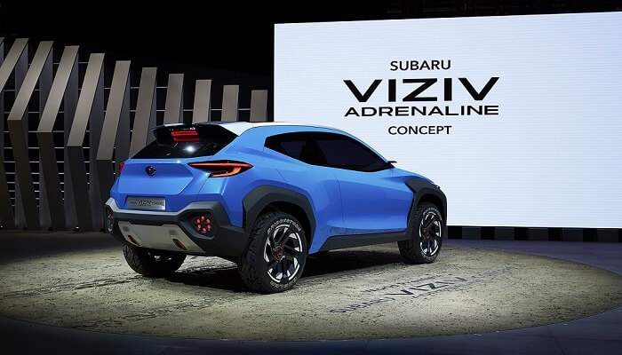 Subaru Car Dealers Perth News: The Viziv Adrenaline Concept Unveiled