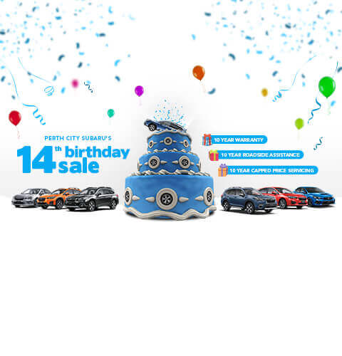 City Subaru - Website Banner