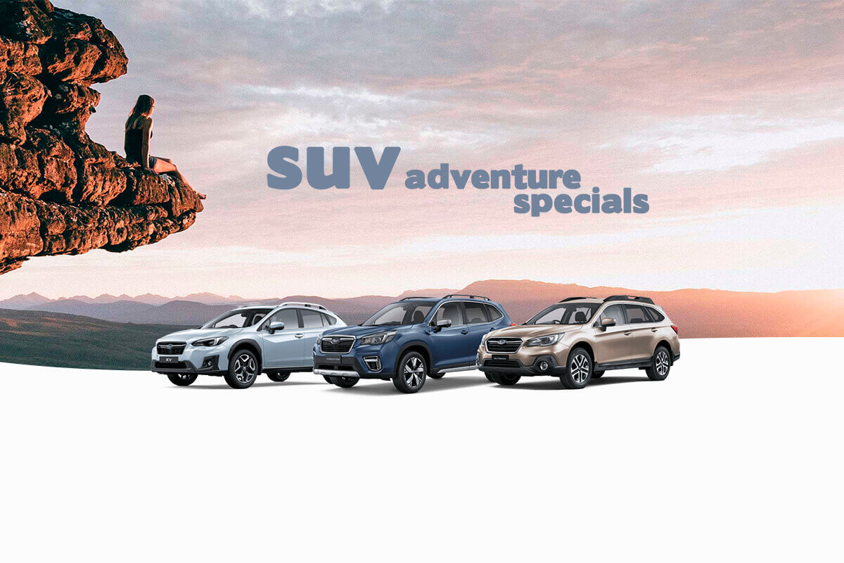 City Subaru - SUV Adventure