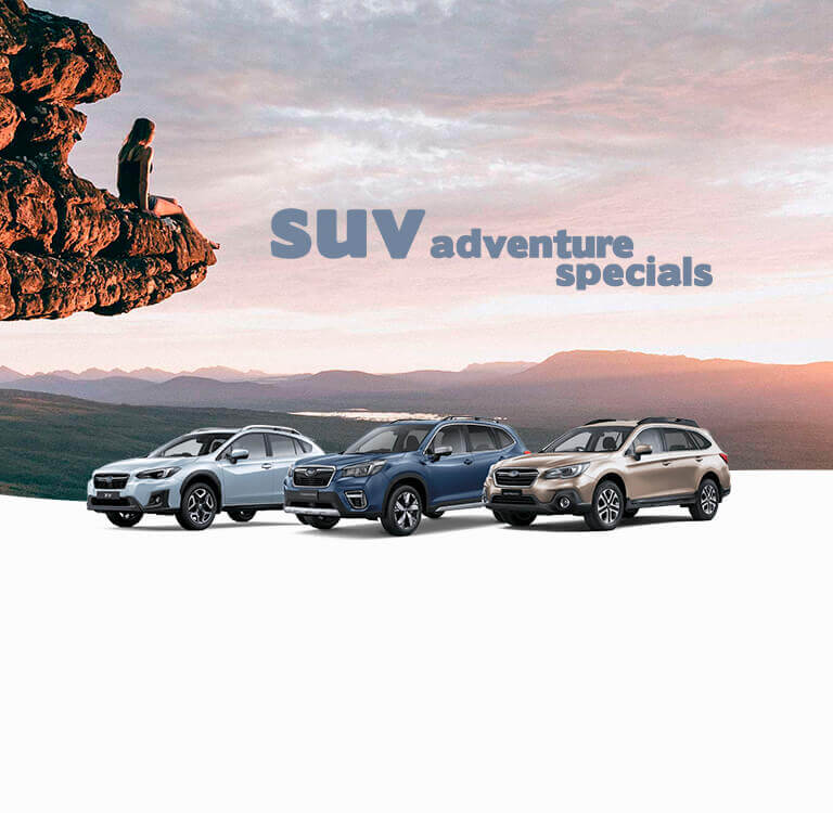 City Subaru - Website Banner