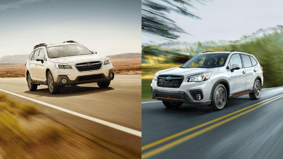 How Does the Subaru Outback Compare to the Subaru Forester?