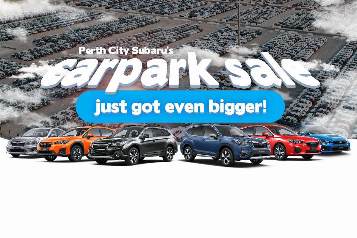 Carpark Sale - City Subaru