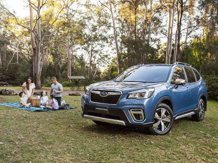 Launching The All New Hybrid Subaru Forester