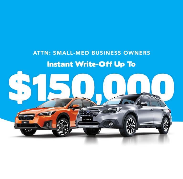 Subaru Fleet Offer