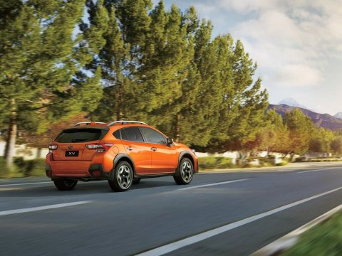 best subaru xv 2020 - orange