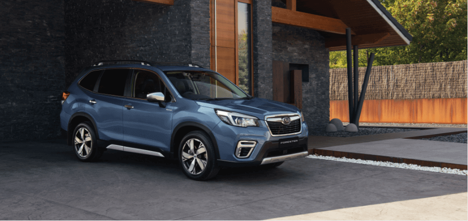 metallic grey subaru forester