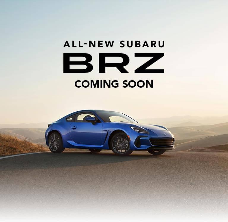 All New Subaru BRZ