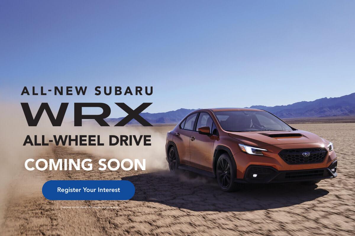 2022 wrx Subaru